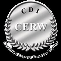 Certified expert resume writer logo