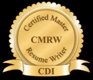 certified master resume writer logo