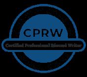 certified professional resume writer logo